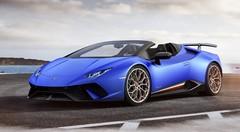 La Lamborghini Huracan Performante Spyder se dévoile
