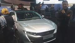 Peugeot 508 (2018) : découverte de la nouvelle 508 avec Gilles Vidal