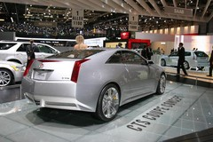 Cadillac CTS coupé : question de style