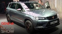 Cupra Ateca : le premier véhicule de la marque dévoilé au Salon de Genève