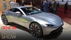Infos, photos, vidéo de présentation de l'Aston Martin Vantage