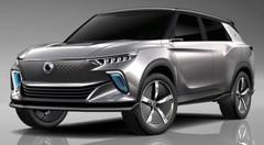 SsangYong e-SIV : futur SUV électrique