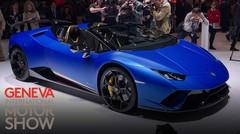 La Lamborghini Huracan Performante Spyder à Genève, fidèle au V10 atmosphérique