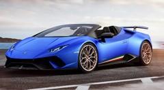Lamborghini Huracan Performante Spyder : infos et photos