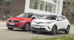 Essai Toyota C-HR vs Volkswagen T-Roc 1.5 TSI : SUV hybride ou essence ?