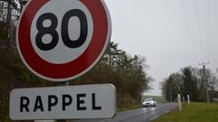 80 km/h : trois quarts des conducteurs sont opposés à la baisse de la limitation de vitesse