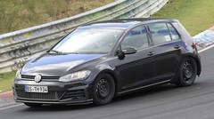 Un mulet de la Volkswagen Golf 8 surpris au Nürburgring