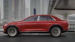 Le concept de SUV Mercedes Maybach en fuite