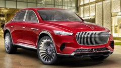Mercedes-Maybach Ultimate Luxury : SUV limousine