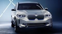 Bmw iX3 Concept (2018) : un iX3 full électrique de 270 ch et 400 km d'autonomie