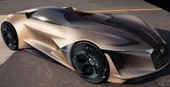 DS X E-Tense : Le concept-car virtuel de 2035