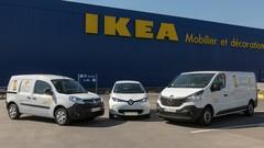 Des Renault en location chez Ikea