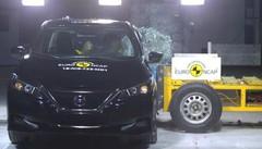 Nissan Leaf : 5 étoiles aux nouveaux tests EuroNCAP