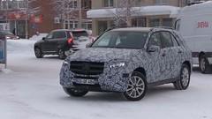 Balade groupée pour le futur Mercedes GLE