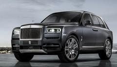 Rolls-Royce Cullinan 2018 : le plus somptueux des SUV