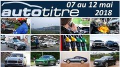 Résumé Auto Titre du 07 au 12 mai 2018