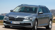 Restylage imminent pour la Skoda Superb