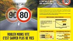 Un choc n'est pas deux fois moins violent à 80 km/h qu'à 90 km/h