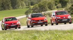 Essai GTI VW up! vs Polo vs Golf : bienvenue chez les G'TI