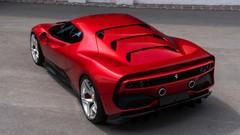 Ferrari SP38 : un modèle unique inspiré des années 80