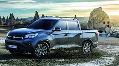 Ssangyong révèle les prix de son pick-up Musso