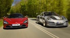 Essai Porsche 911 GT2 RS vs McLaren 720S : Armes de propulsion massive