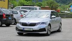 La future Octavia testée par Skoda sous la carrosserie de l'actuelle