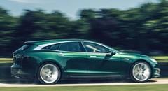 Une version break non-officielle pour la Tesla Model S