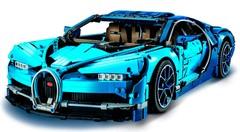 Bugatti Chiron : le Lego Technic de 3 600 pièces