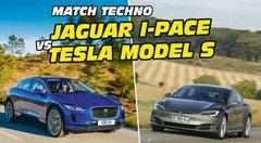 Match Jaguar I-Pace vs Tesla Model S : la bataille des technologies