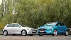 Essai Ford Fiesta vs Volkswagen Polo : Tirs croisés