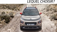 SUV urbain Citroën C3 Aircross :lequel choisir?