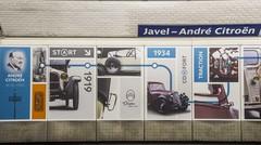 Citroën dans le métro