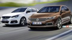 Future Volkswagen Golf 8 (2019) : ses armes face à la Peugeot 308