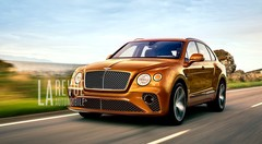 Bentley confirme un Bentayga Speed