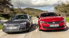 Essai Peugeot 508 vs Audi A4 : Laquelle est la meilleure ?