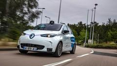 Quatre Renault Zoe autonomes en service au sud de Rouen