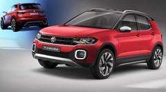 Nouveau Volkswagen T-Cross (2018) : 1ères images officielles