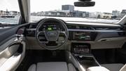Le SUV électrique Audi e-tron quattro dévoile son intérieur