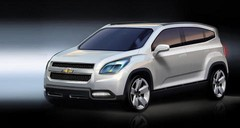 Chevrolet Orlando : Monospace 7 places