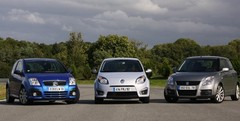 Essai Renault Twingo RS, Suzuki Swift Sport, Citroën C2 VTS : sportives mais exploitables ?