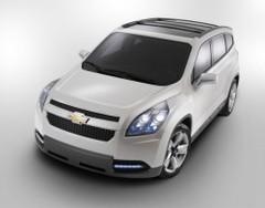 Chevrolet Orlando : un proto de 7 places et de l'espace