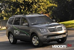 Kia Borrego FCEV : Avec pile à combustible