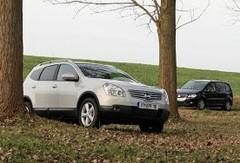Essai Nissan Qashqai+2 et Volkswagen Touran 7 places