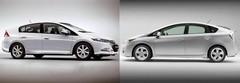 Toyota Prius - Honda Insight : le premier match !