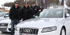 Audi S4 : du feu sur la glace