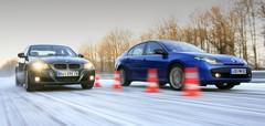 Essai  Renault Laguna 2.0 dCi 180 GT vs BMW 320d xDrive : Quatre roues directrices mieux que motrices ?