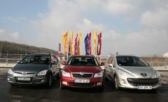 Essai Peugeot 308 SW, Hyundai i30 CW, Skoda Octavia Combi : breaks moyens mais maxi place