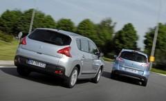 Essai Renault Scénic 1.5 dCi 110 FAP contre Peugeot 3008 1.6 HDi 110 : La route avec des yeux d'enfant