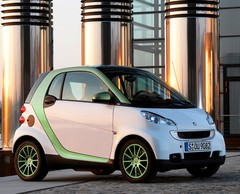 Smart Fortwo electric drive : Smart prend un coup de jus